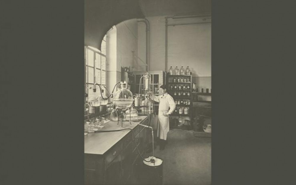 Pharmaceutical Research at Ciba in Basel, Switzerland in 1914
